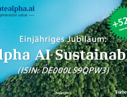 "Ein Jahr ""Alpha AI Sustainable"""