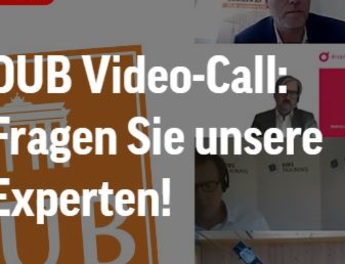 """Unser CEO im Live Stream beim Deutschen Unternehmer Magazin – """"Vorteile KI-unterstützter Datenauswertung """""""