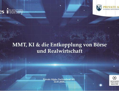Modern Monetary Theorie (MMT) und die Entkopplung von Börse und Realwirtschaft