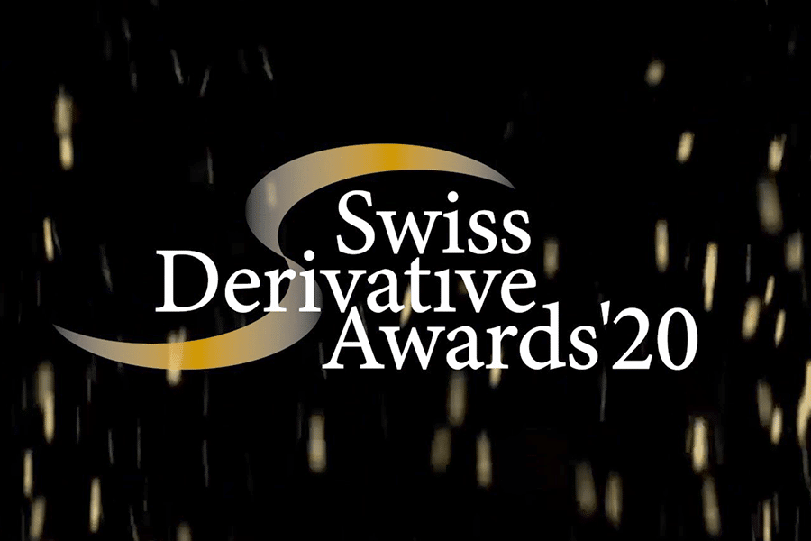Nominiert zu den 2020 Swiss Derivate Awards
